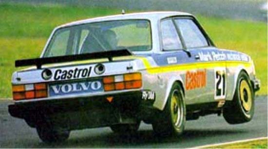 Road Cars Of Touring Car Racing Volvo Turbo Touringcartimes