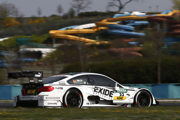 Motorsports / DTM: german touring cars championship 2014, test drives Hungaroring