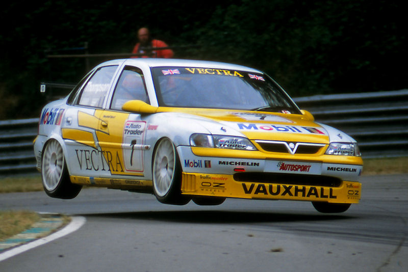 Gallery 25 Years Of Vauxhall In The Btcc Touringcartimes
