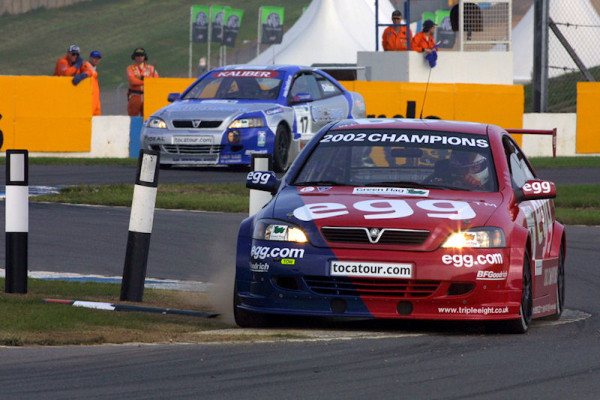 Round 10 of the British Touring Car Championship.