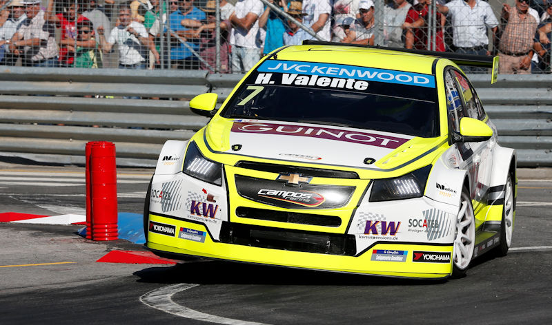 07 VALENTE Hugo (fra) Chevrolet Cruze team Campos racing action during the 2015 FIA WTCC World Touring Car Championship race of Portugal, Vila Real from July 10th to 12th 2015. Photo Alexandre Guillaumot / DPPI.