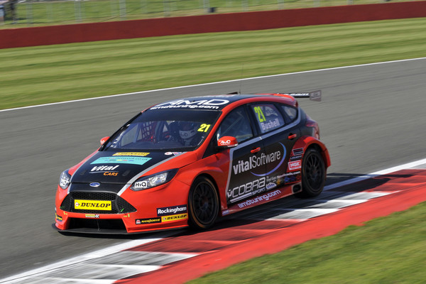 Round 9 of the 2015 British Touring Car Championship. #21 Mike Bushell (GBR). AmD Tuning.com. Ford Focus.