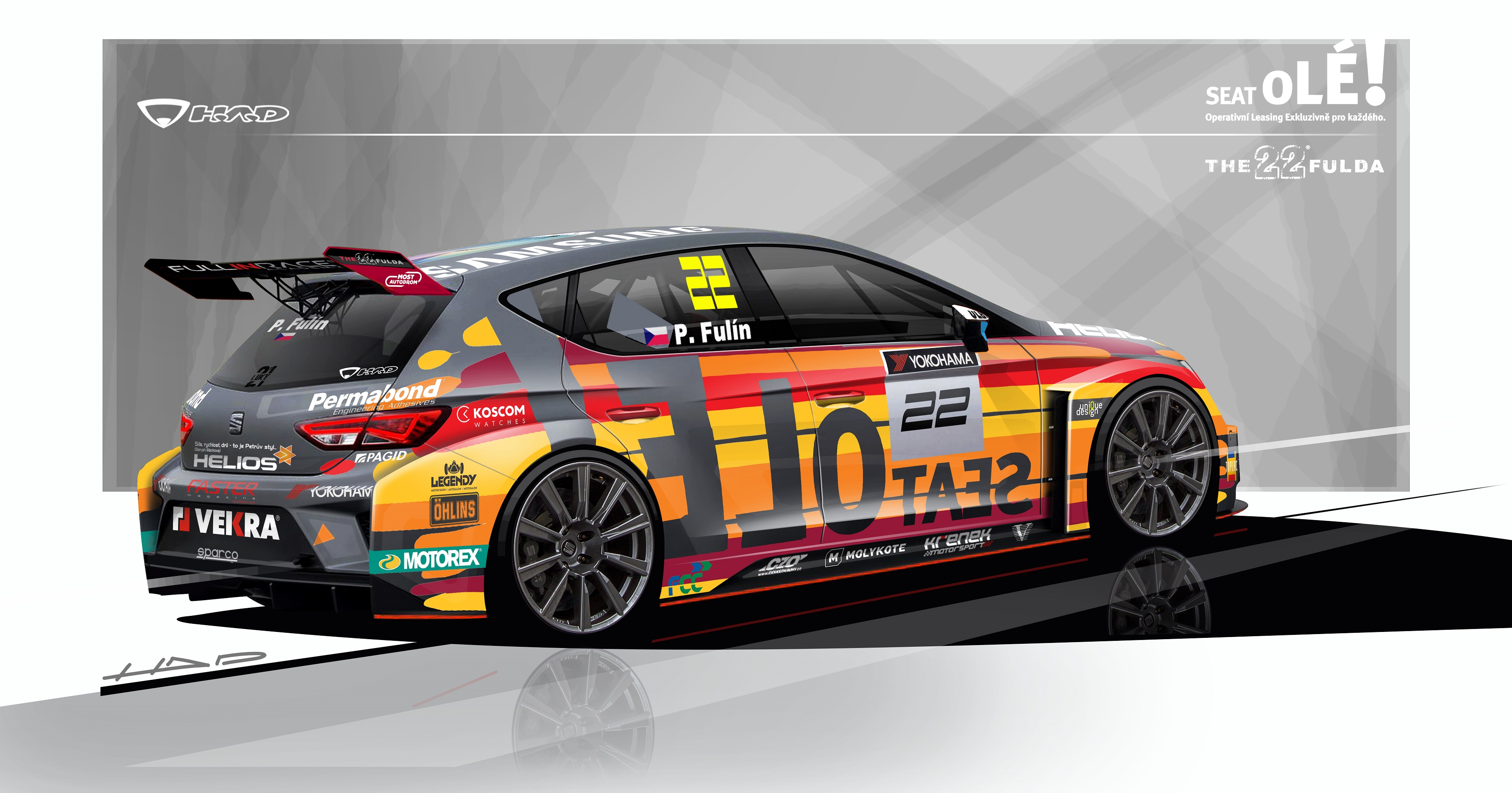 New Livery For Petr Ful 237 N S Etcc Campaign Revealed
