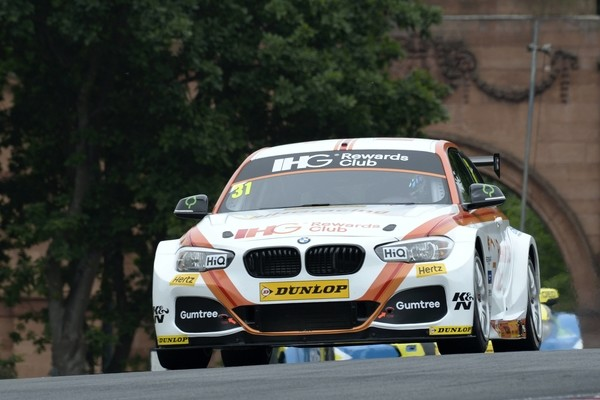 #31 Jack Goff GBR Team IHG Rewards Club BMW 125i M Sport during first practice for the BTCC Oulton Park 4th-5th June 2015 at Oulton Park, Little Budworth, Cheshire, United Kingdom. June 04 2016. World Copyright Peter Taylor/PSP.