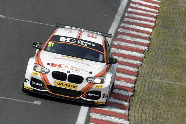 #31 Jack Goff GBR Team IHG Rewards Club BMW 125i M Sport during qualifiying for the BTCC Oulton Park 4th-5th June 2015 at Oulton Park, Little Budworth, Cheshire, United Kingdom. June 04 2016. World Copyright Peter Taylor/PSP.