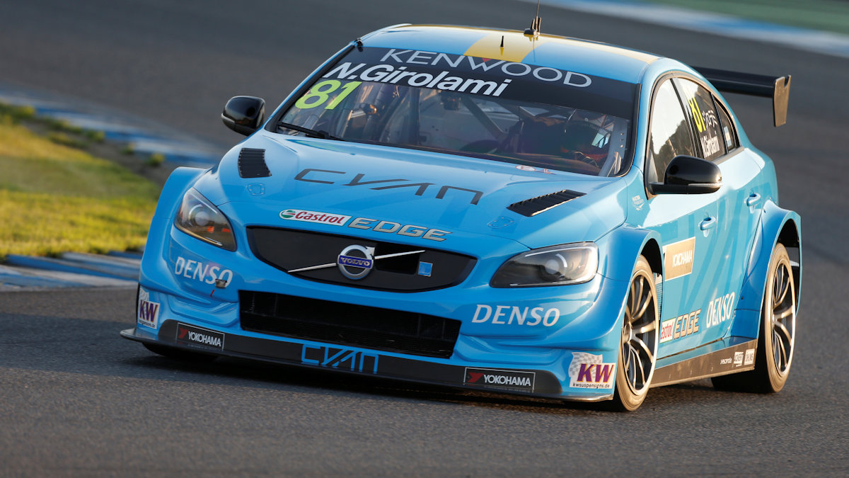 81 GIROLAMI Nestor (arg) Volvo S60 team Polestar Cyan racing action during the 2016 FIA WTCC World Touring Car Championship race at Motegi from September 2 to 4  Japan - Photo Francois Flamand / DPPI