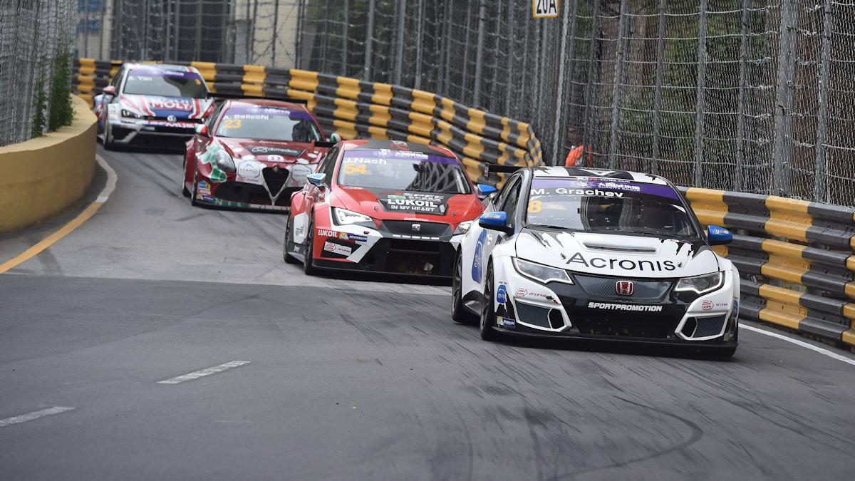 20.11.2016 - Race 1, Mikhail Grachev (RUS) Honda Civic TCR , WestCoast Racing