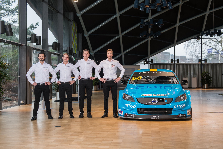 Resultado de imagen para Néstor Girolami Volvo 2017 WTCC