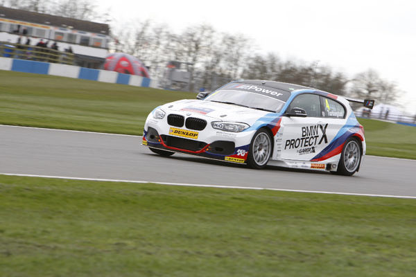 Colin Turkington (GBR) No.4 Team BMW 125i M Sport British Touring Car Championship Media Day 2017 at Donington Park,Derbyshire,UK on 16 March 2017. Lanyon/PSP