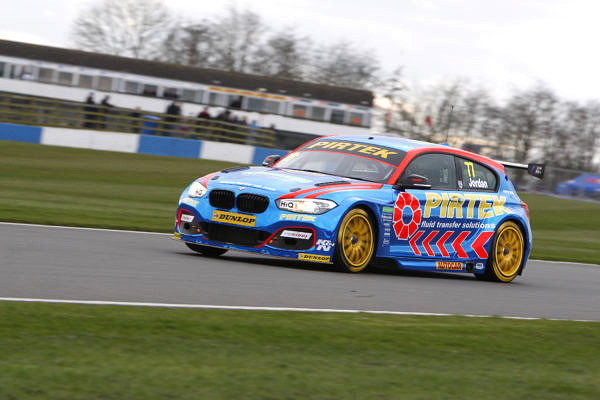 Andrew Jordan (GBR) No.77 Team BMW 125i M Sport British Touring Car Championship Media Day 2017 at Donington Park,Derbyshire,UK on 16 March 2017. Lanyon/PSP