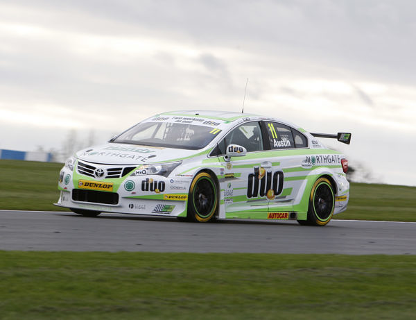 Rob Austin (GBR) No.11 Handy Motorsport Toyota Avensis British Touring Car Championship Media Day 2017 at Donington Park,Derbyshire,UK on 16 March 2017. Lanyon/PSP