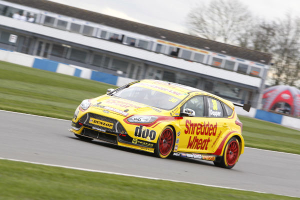 Martin Depper (GBR) No.30 Team Shredded Wheat Racing Ford Focus British Touring Car Championship Media Day 2017 at Donington Park,Derbyshire,UK on 16 March 2017. Lanyon/PSP