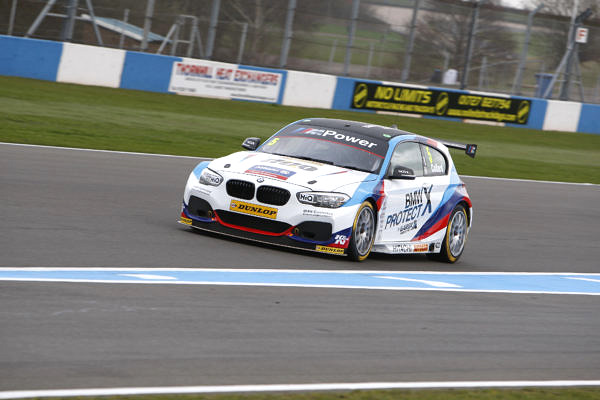 Robert Collard (GBR) No.5 Team BMW BMW 125i M Sport British Touring Car Championship Media Day 2017 at Donington Park,Derbyshire,UK on 16 March 2017. Lanyon/PSP