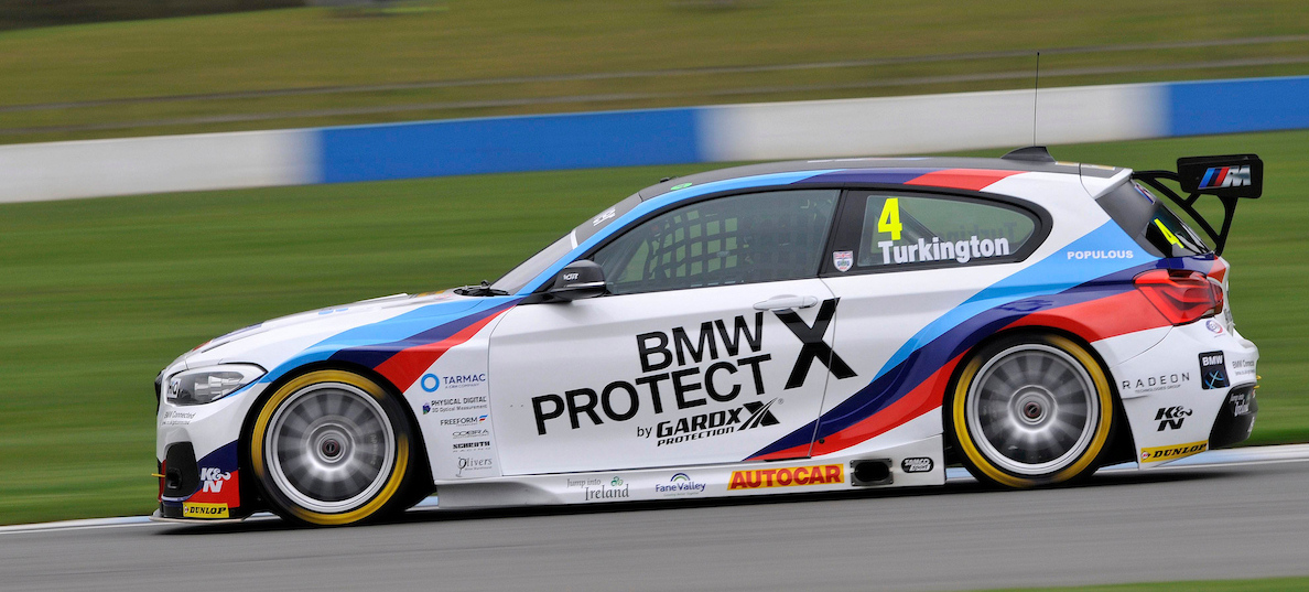 Media Day of the 2017 British Touring Car Championship. #4 Colin Turkington (GBR). Team BMW. BMW 125i M Sport.