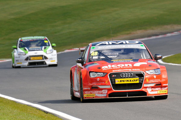 Round 1 of the 2017 British Touring Car Championship. #48 Ollie Jackson (GBR). AmDtuning.com with Cobra Exhausts. Audi S3.