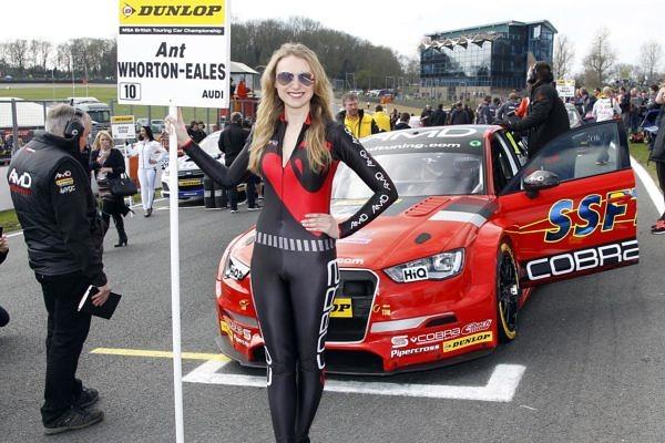 Round 1 of the 2017 British Touring Car Championship. AmD Racing