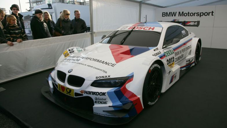 BMW launches DTM test as prize for Sports Trophy - TouringCarTimes