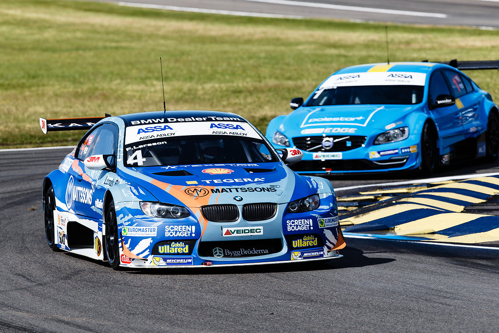 Fredrik Larsson Claims Pole Position In Falkenberg For Bmw