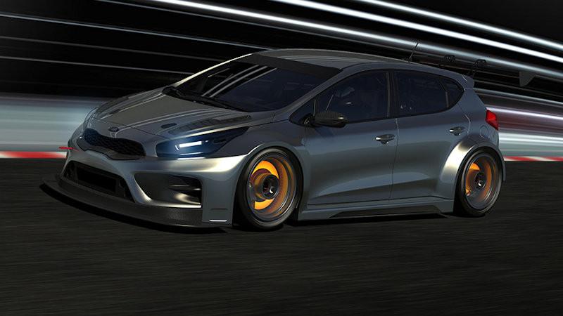 Kia Announces Its Tcr Customer Racing Programme