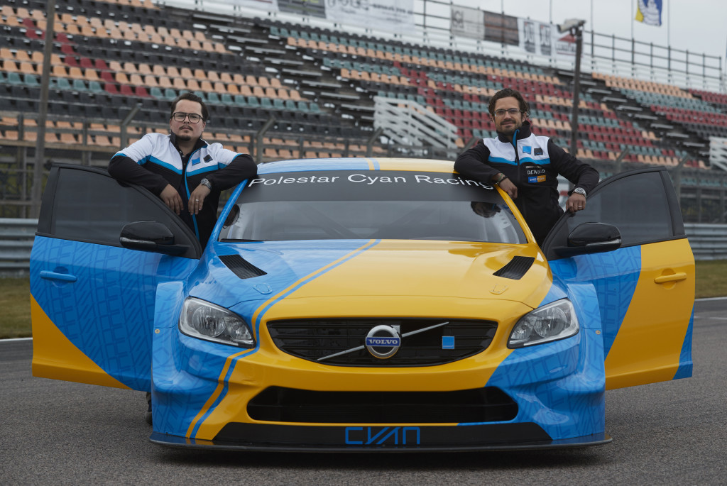polestar cyan racing unveils wtcc art carprince carl