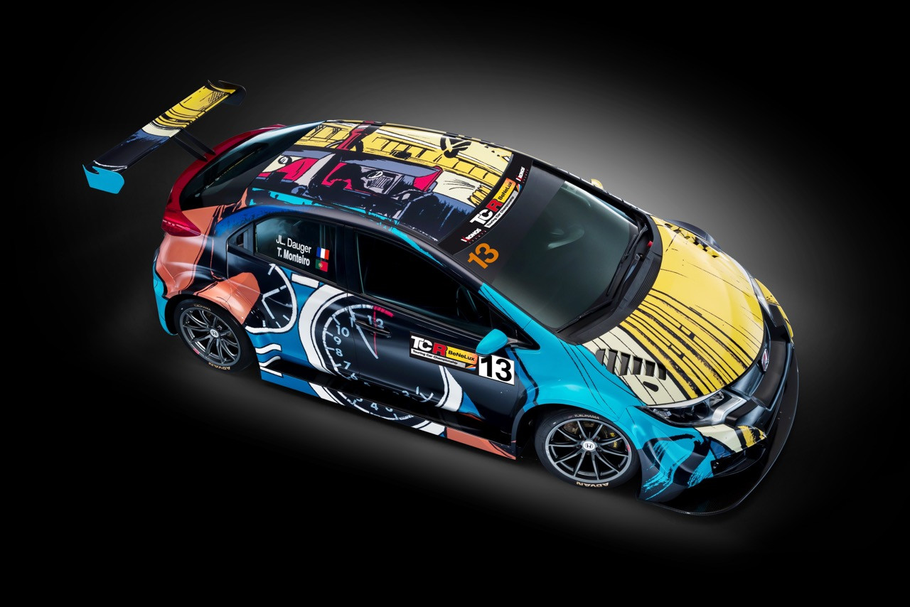 Tiago Monteiro To Run Honda Art Car Livery In Tcr Benelux