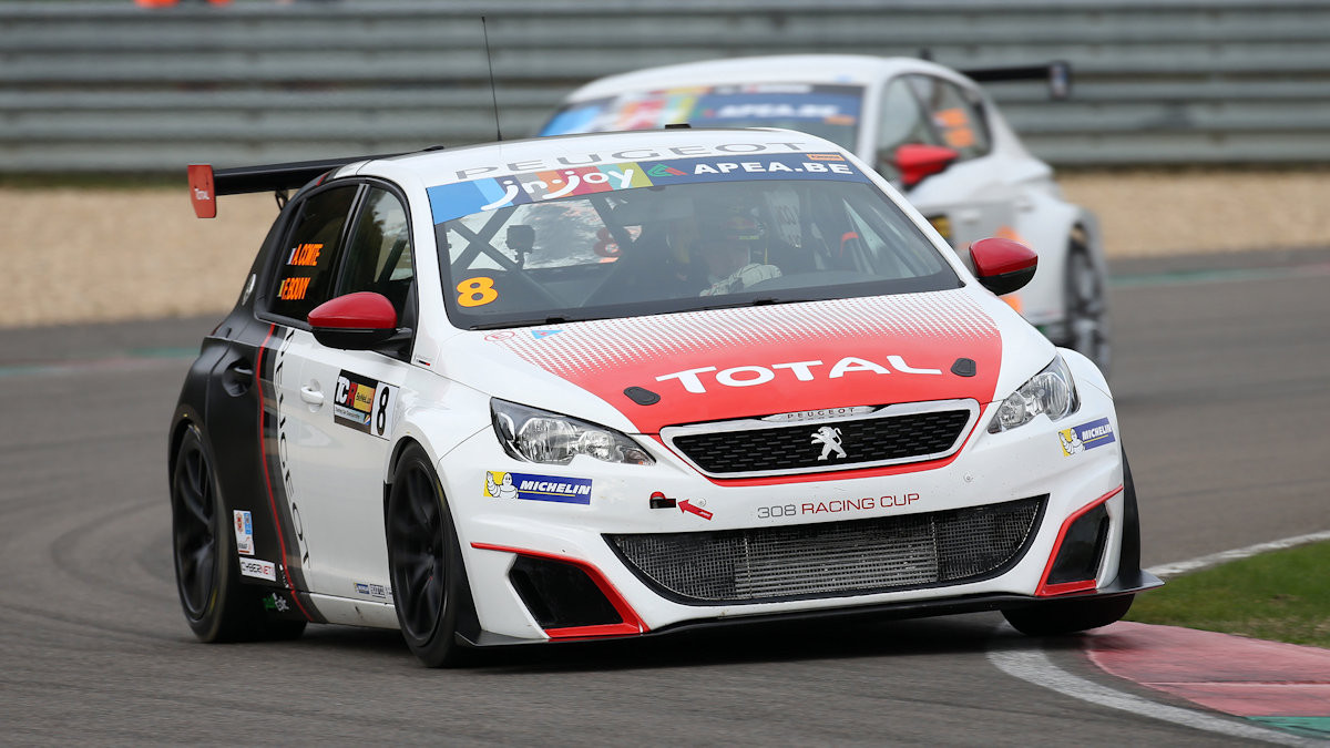 peugeot open order books for the 308 racing cup. Black Bedroom Furniture Sets. Home Design Ideas