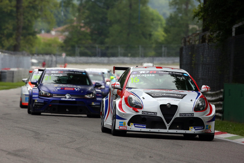 Monza Race Davit Kajaia