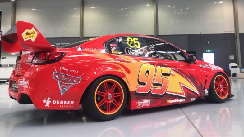 Lightning Mcqueen Livery For Will Davison In Sydney
