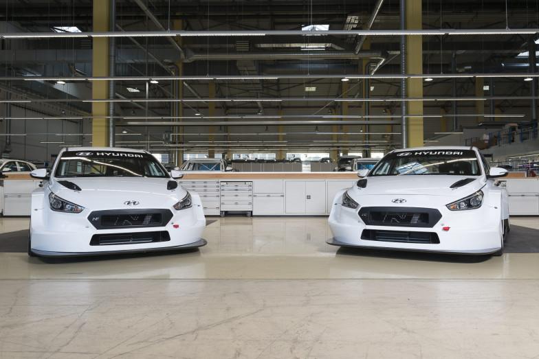 [TCR] 现代首批TCR赛车交付客户