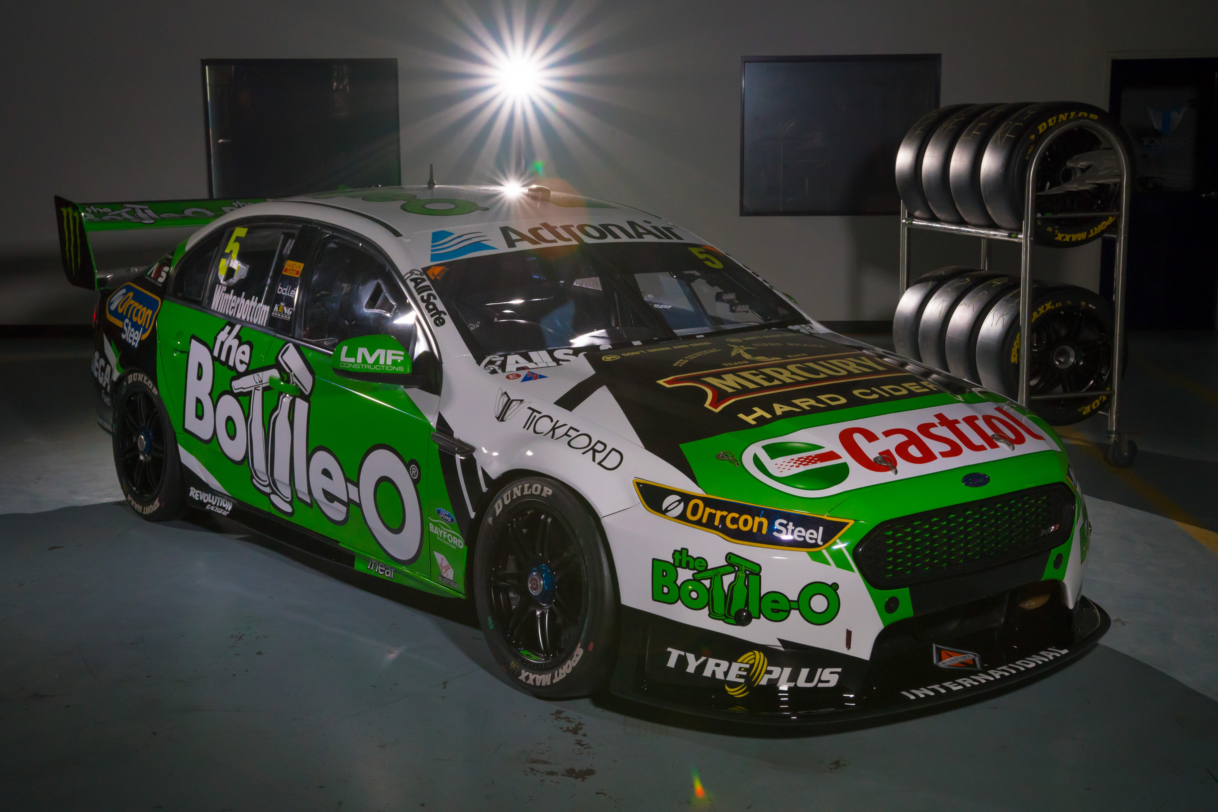 mark winterbottom u2019s 2018 livery has been reveled