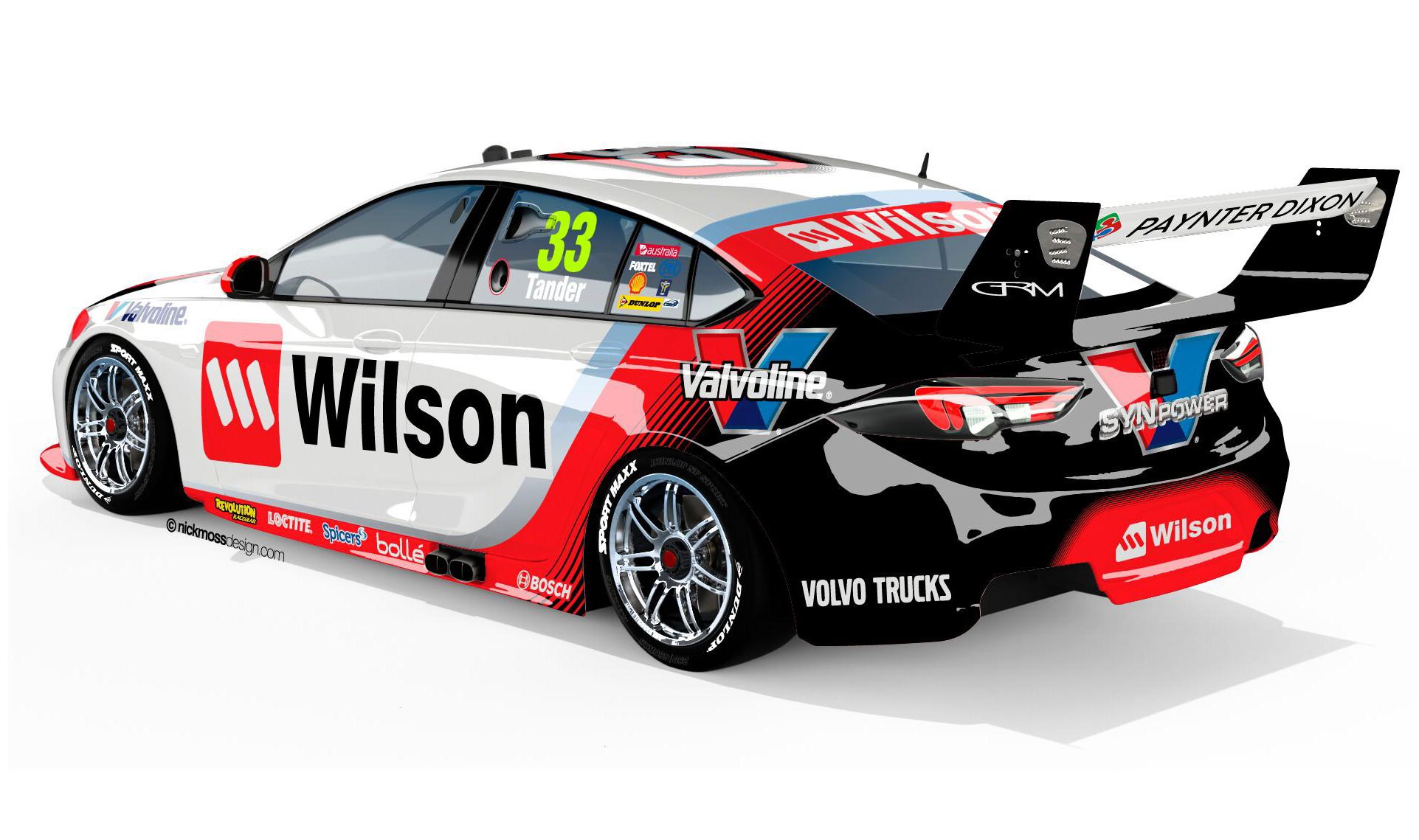 Garry Rogers Motorsport unveil 2018 livery - TouringCarTimes