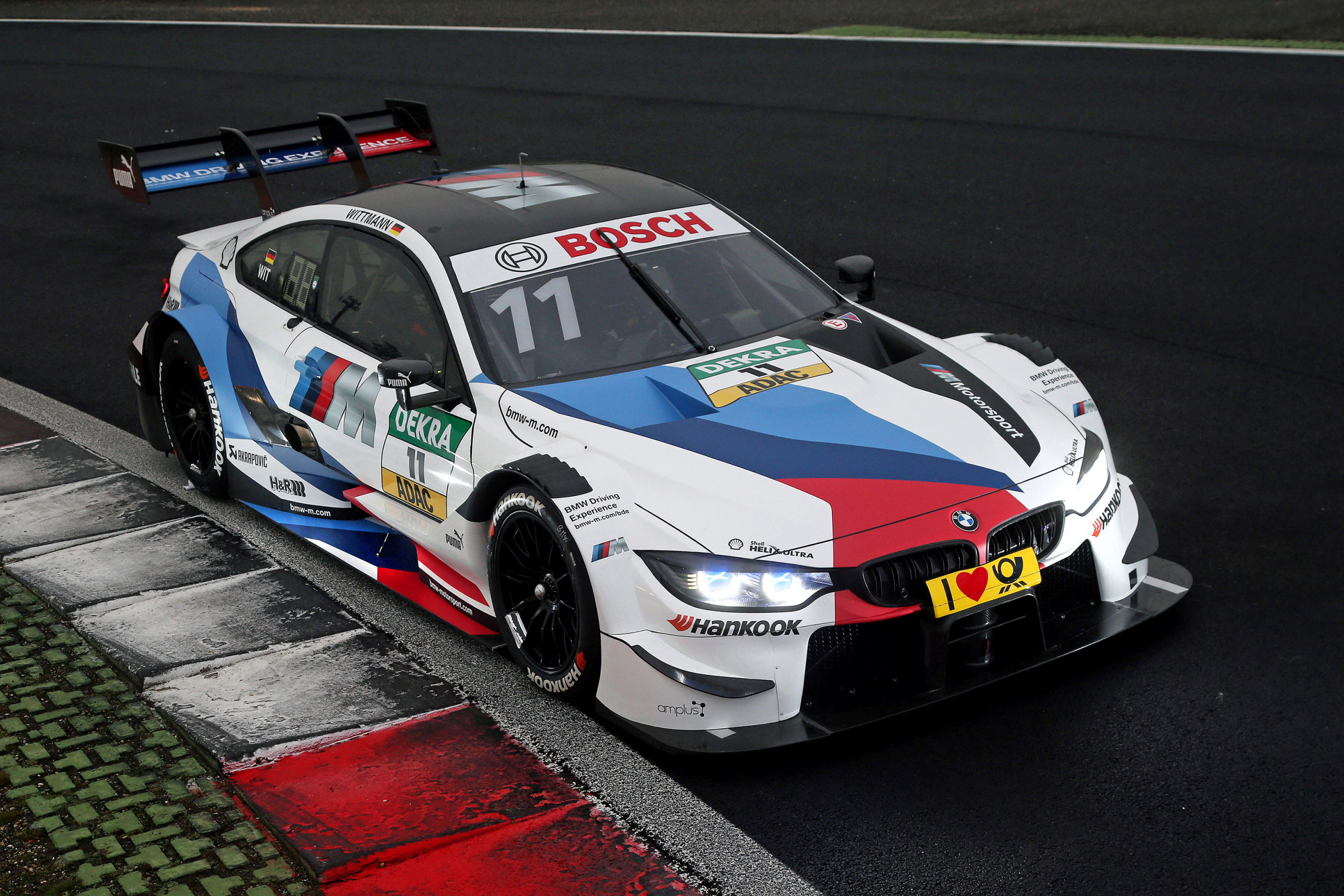 Bmw Reveal First 2018 Livery For Marco Wittmann