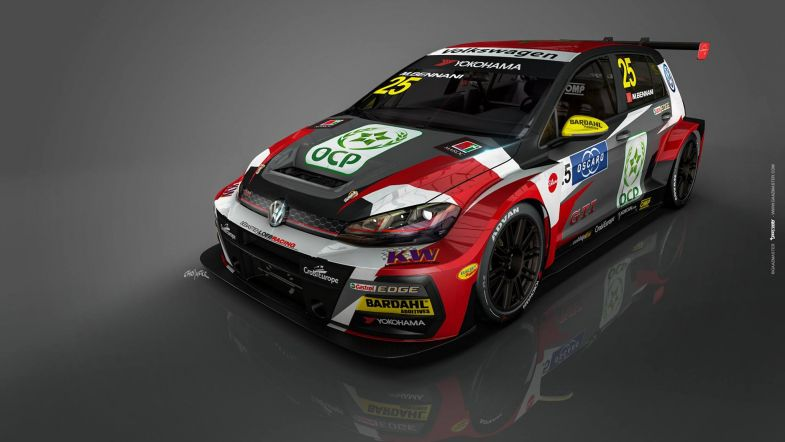 mehdi bennani 39 s new s bastien loeb racing volkswagen also revealed touringcartimes. Black Bedroom Furniture Sets. Home Design Ideas