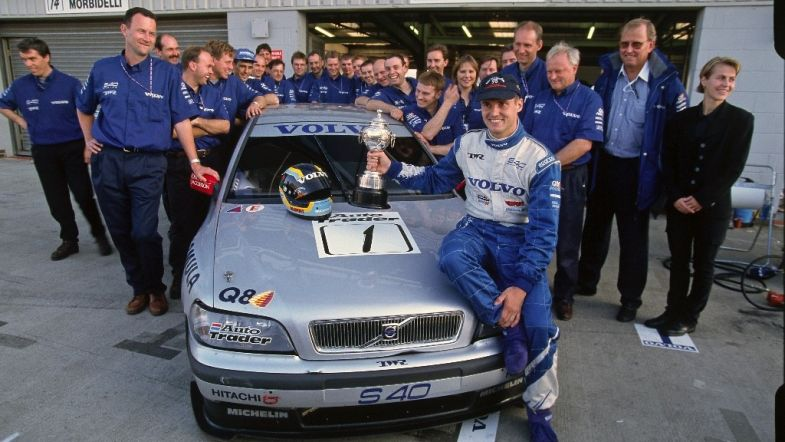 Rickard Rydell Comes Out Of Retirement With Iconic Volvo S40 Super