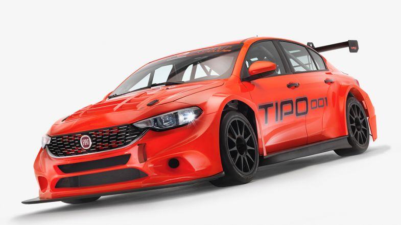 tecnodom sport officially unveil the fiat tipo tcr touringcartimes. Black Bedroom Furniture Sets. Home Design Ideas