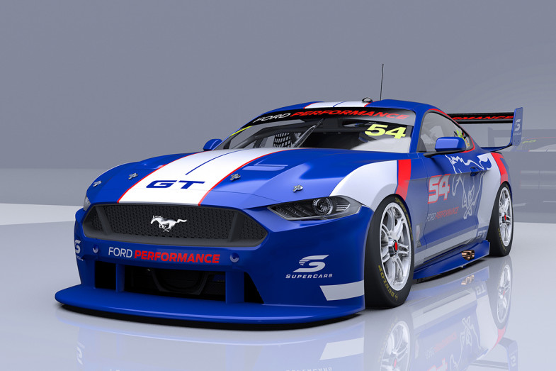 First Ford Mustang In Supercars Specification Under Construction Touringcartimes