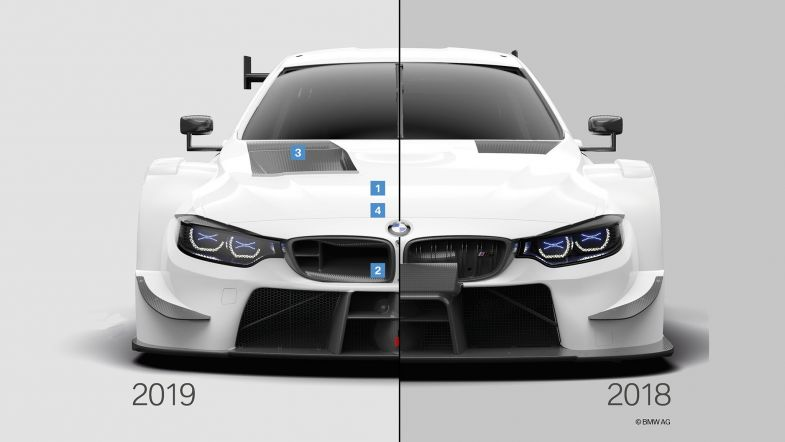Bmw Explain The New Dtm Cars In Pictures Touringcartimes