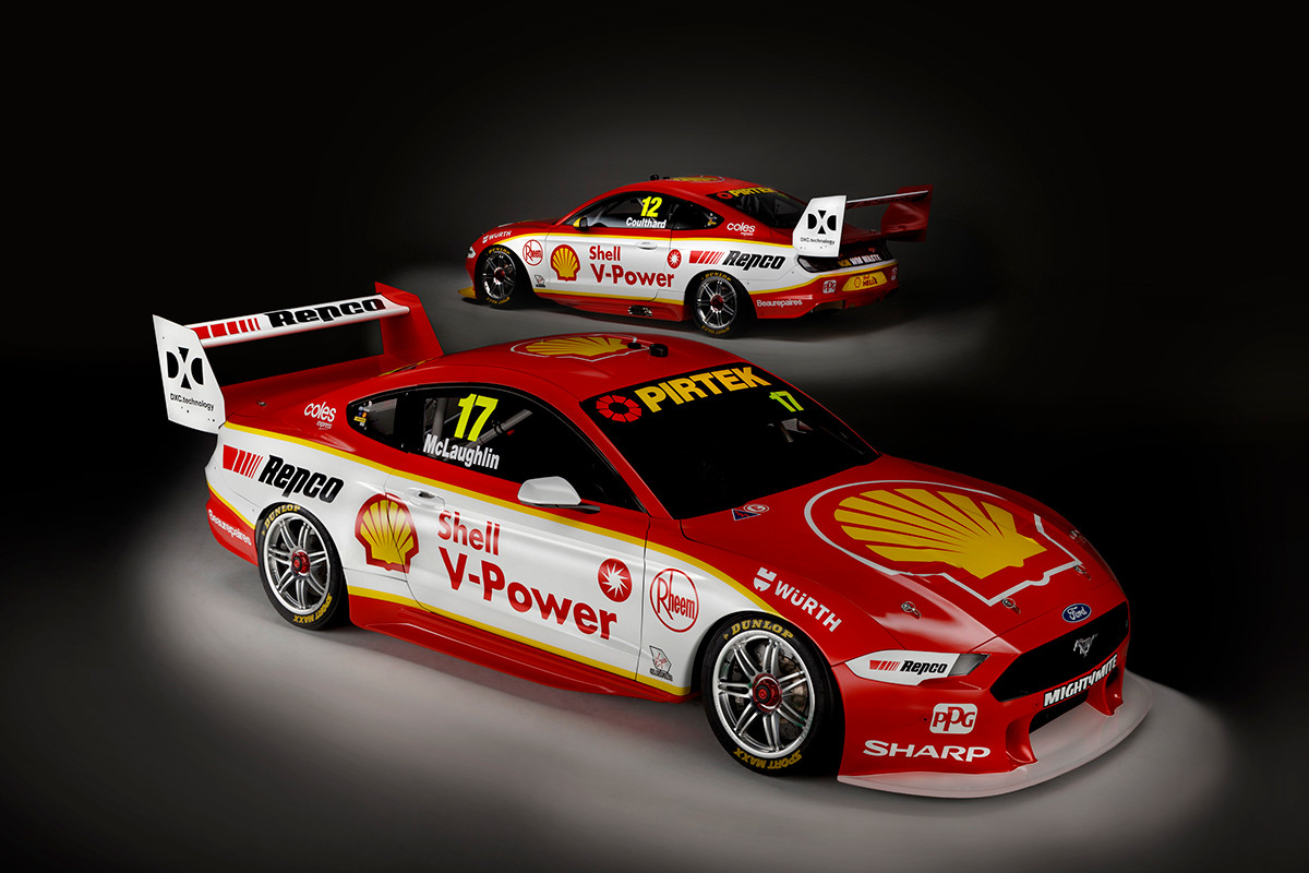 DJR Team Penske unveil livery for new Ford Mustang - TouringCarTimes