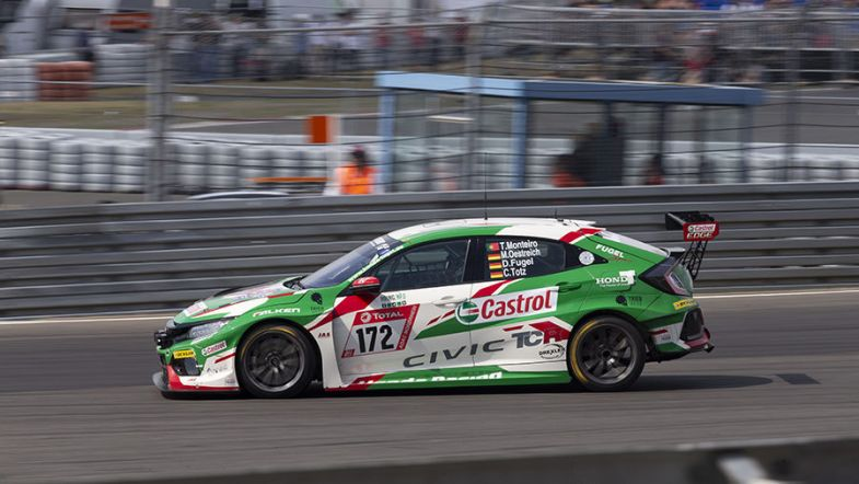 Frédéric Vervisch and Tiago Monteiro win the Nürburgring 24