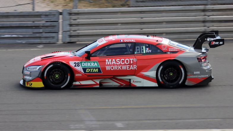 Loïc Duval tops second free practice at the Norisring