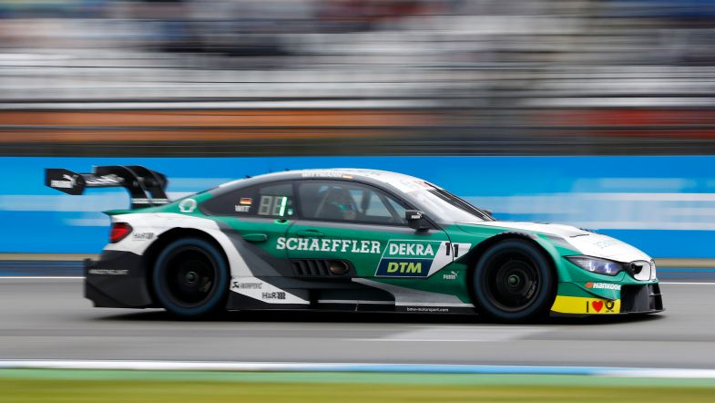 It's a family affair for Marco Wittmann at the Norisring