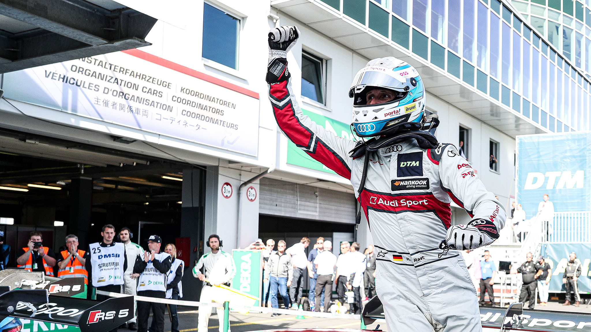 """René Rast on his second DTM title: """"I still can't believe it!"""" - TouringCarTimes"""