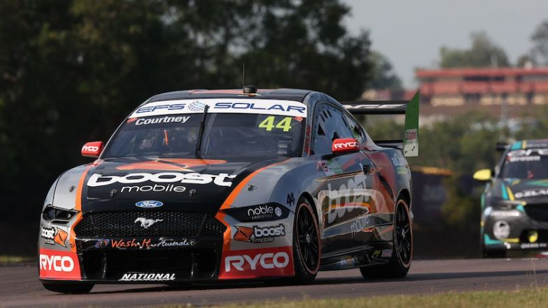 James Courtney hit with post-race penalty - TouringCarTimes