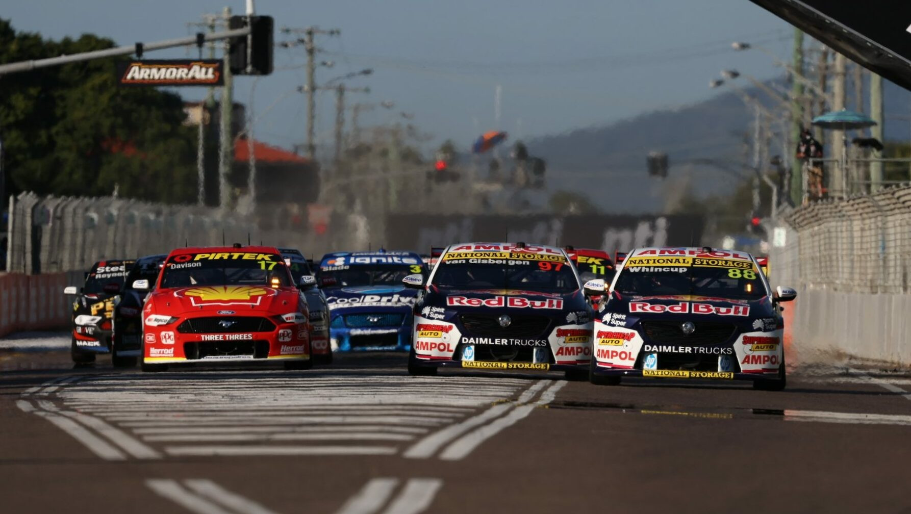 Shane van Gisbergen fights back to clinch opening ...